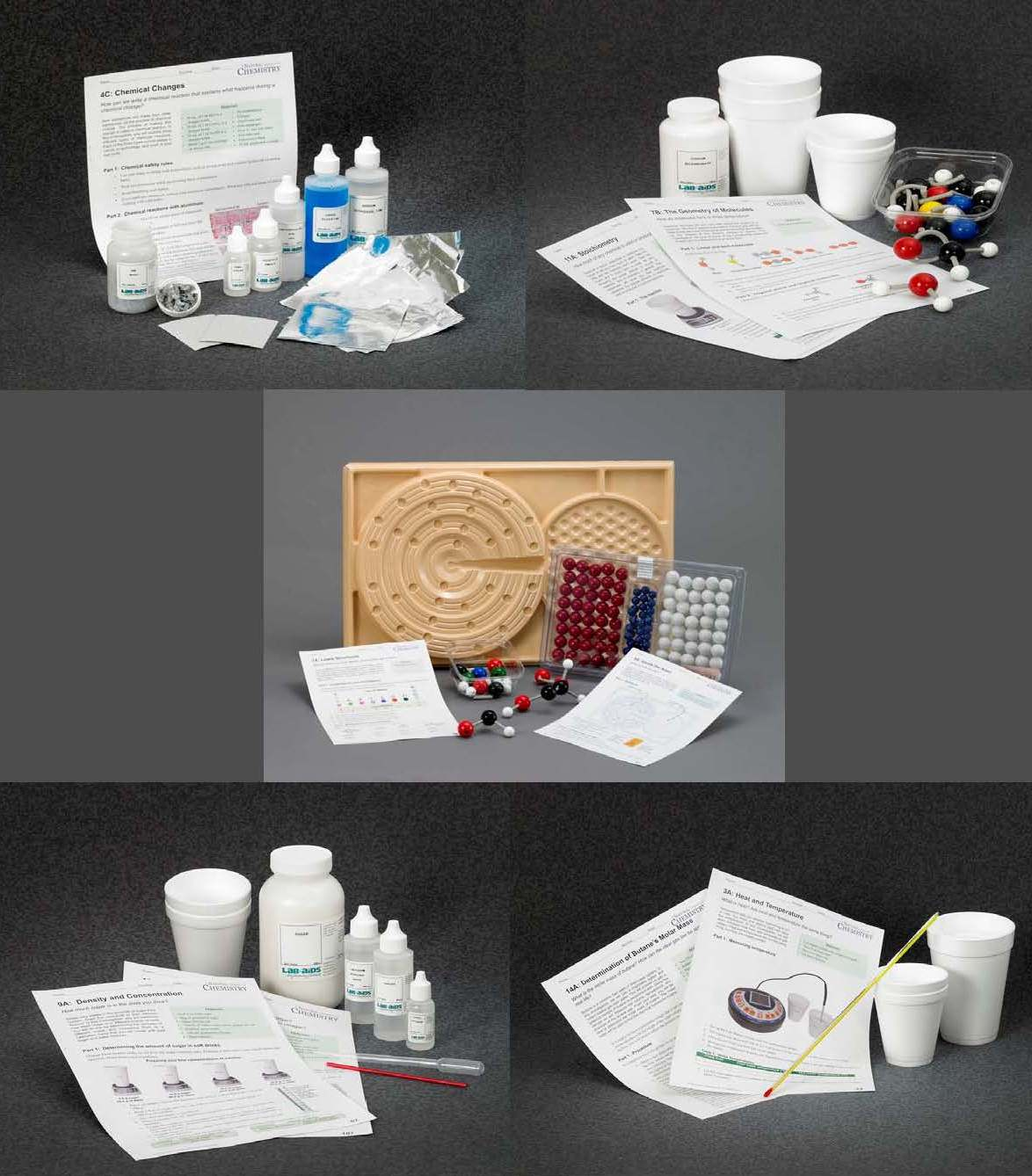TEXAS Chemistry Review Bundle Package EXPAND-A-KIT