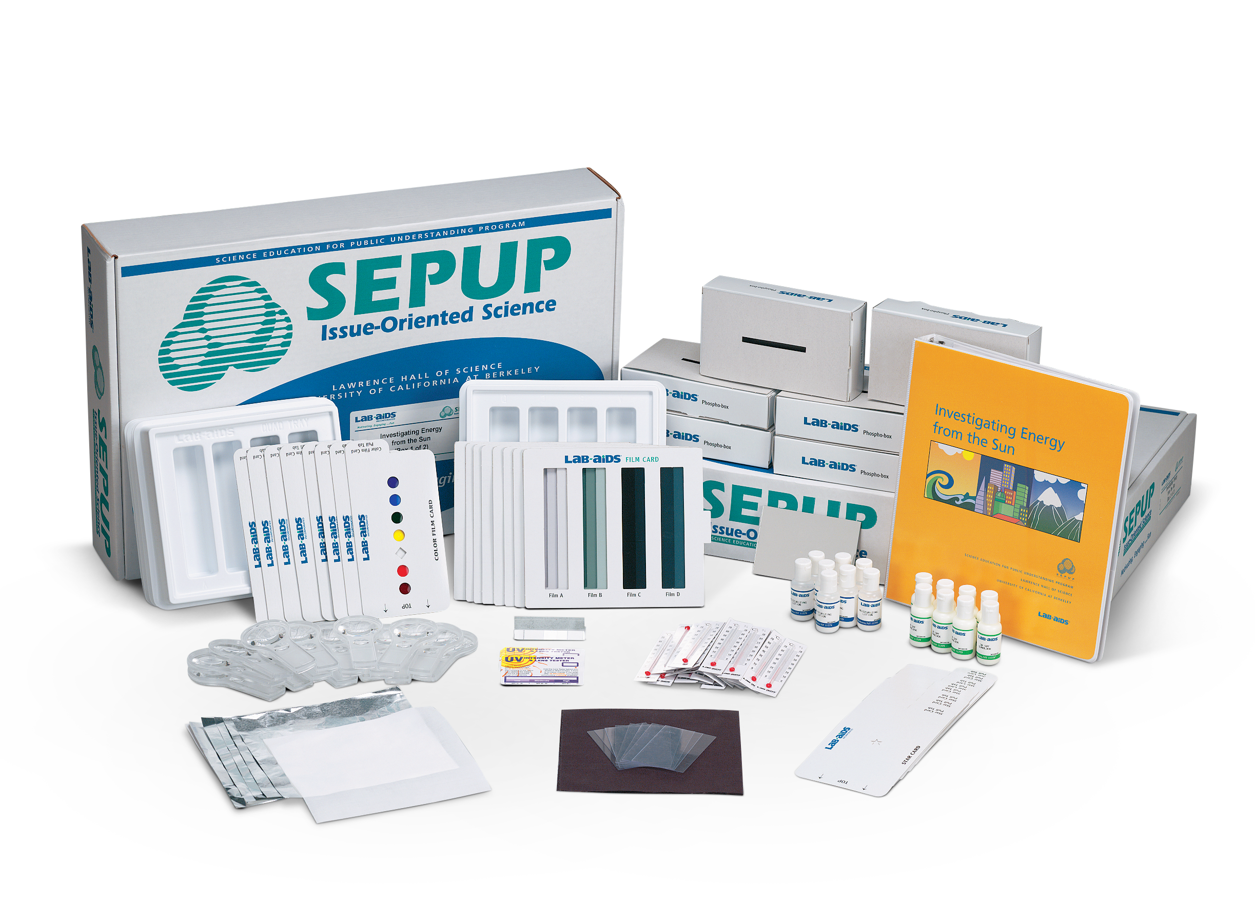 Investigating Energy from the Sun (Developed by SEPUP)