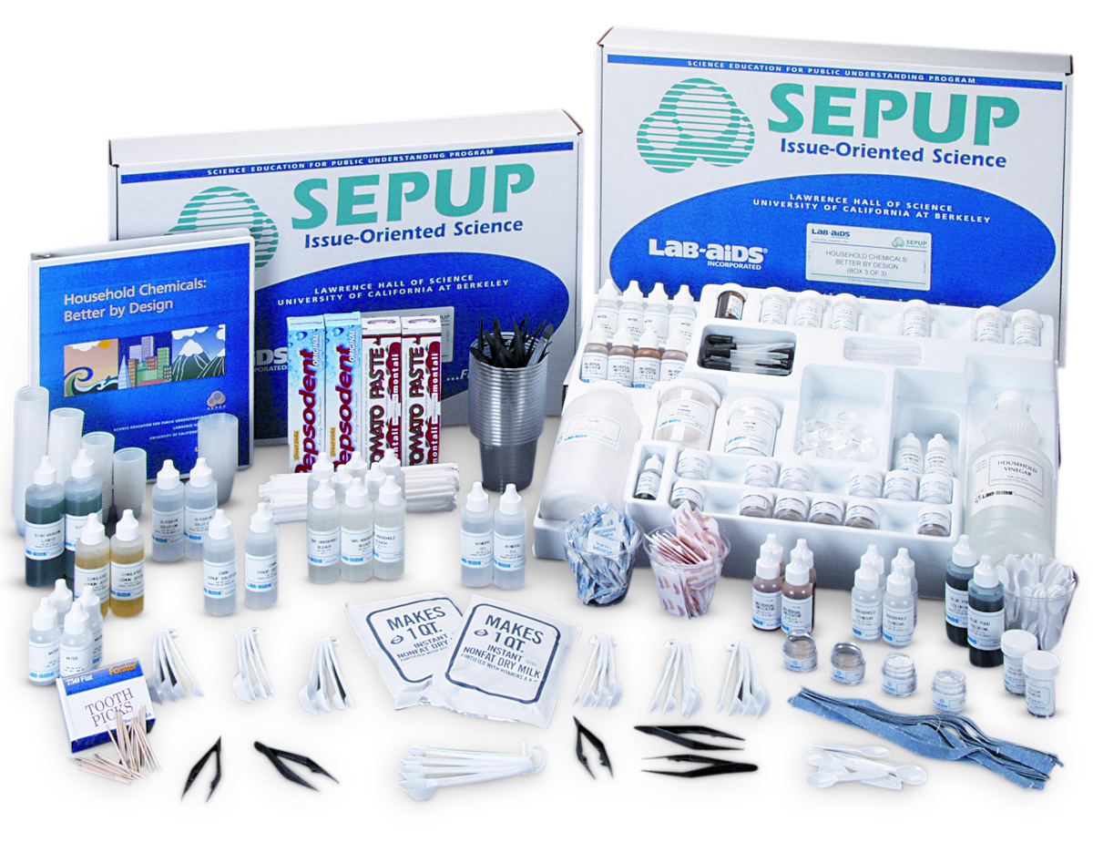 Household Chemicals: Better by Design (Developed by SEPUP)