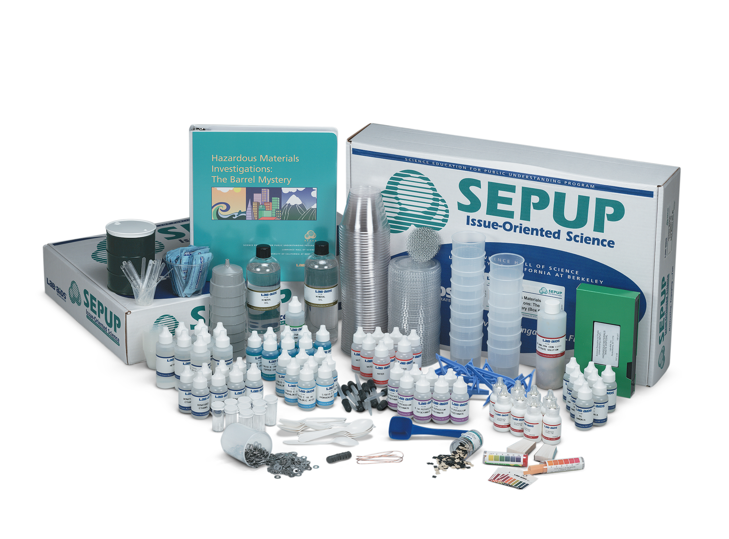 Hazardous Materials Investigation: The Barrel Mystery (Developed by SEPUP)