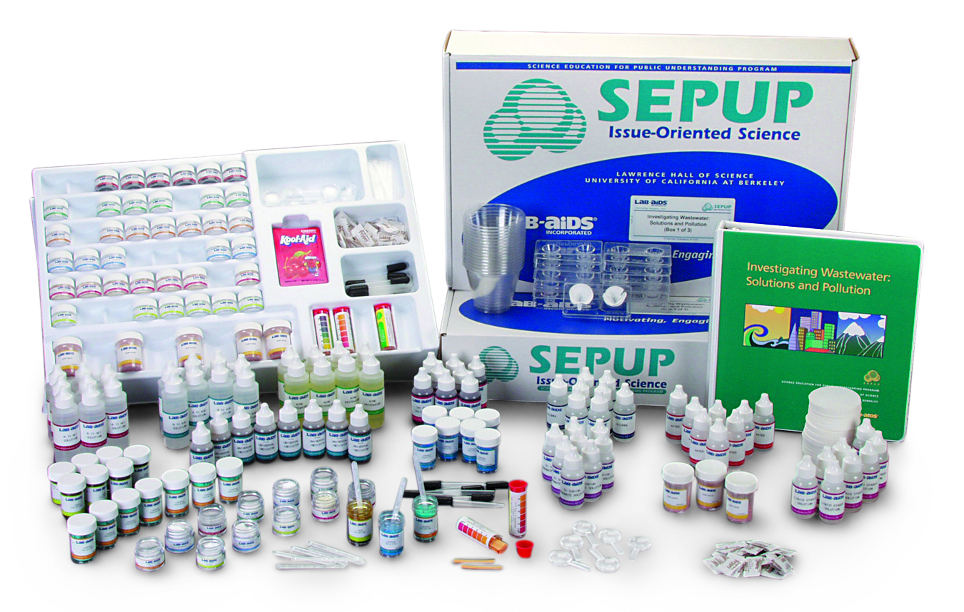 Investigating Wastewater: Solutions & Pollution (Developed by SEPUP)
