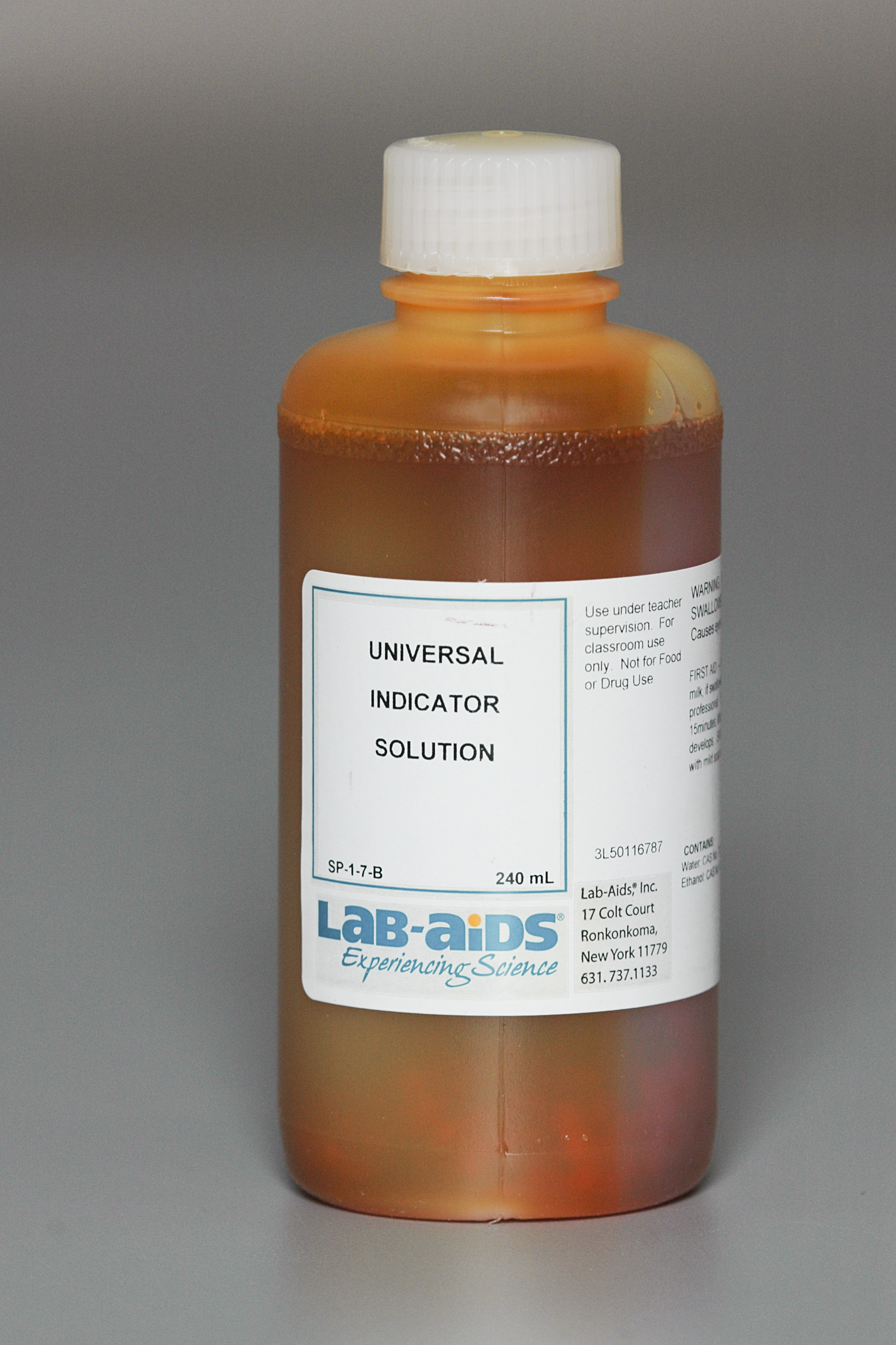 Indicator solution, 240 mL for Universal Indicator Solution  165jwn